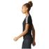 adidas Women's D2M 3 Stripe T-Shirt - Black: Image 4