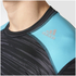 adidas Men's TechFit Base GFX Compression T-Shirt - Black: Image 8