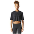 adidas Women's Aeroknit Boxy Crop Top - Black: Image 3