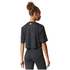 adidas Women's Aeroknit Boxy Crop Top - Black: Image 5