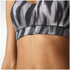 adidas Women's Climachill High Support Sports Bra - Black Print: Image 8