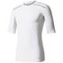 adidas Men's TechFit Climachill T-Shirt - White: Image 1