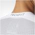 adidas Men's TechFit Climachill T-Shirt - White: Image 8