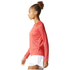 adidas Women's D2M Long Sleeve Top - Core Pink: Image 4