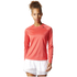 adidas Women's D2M Long Sleeve Top - Core Pink: Image 3