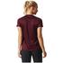 adidas Women's D2M Lose T-Shirts - Maroon: Image 5