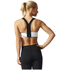 adidas Women's Climachill Marble High Support Sports Bra - White: Image 5