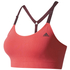 adidas Women's Seamless Low Support Sports Bra - Core Pink: Image 1