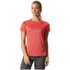 adidas Women's D2M Lose T-Shirts - Core Pink: Image 3