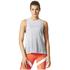 adidas Women's Boxy Melange Tank Top - White: Image 3