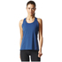 adidas Women's Climachill Tank Top - Mystery Blue: Image 1