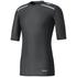adidas Men's TechFit Climachill T-Shirt - Black: Image 1