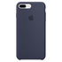 Apple iPhone 7 Plus Silicone Case - Midnight Blue: Image 2