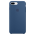 Apple iPhone 7 Plus Silicone Case - Ocean Blue: Image 2