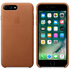 Apple iPhone 7 Plus Leather Case - Saddle Brown: Image 1