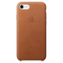 Apple iPhone 7 Leather Case - Saddle Brown: Image 2