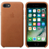 Apple iPhone 7 Leather Case - Saddle Brown: Image 1