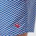 Ted Baker Men's Caven Patterned Swim Shorts - Blue: Image 4