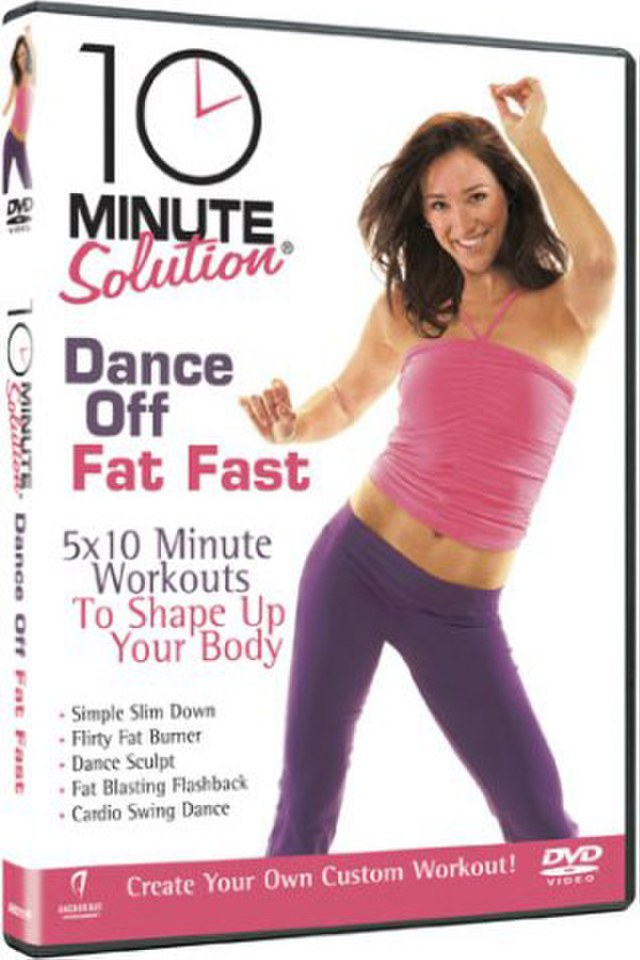 10 Minute Solution Dance Off Fat Fast DVD | Zavvi