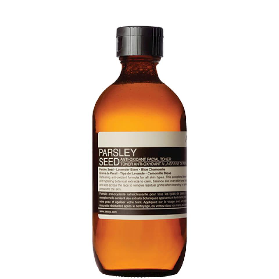 Aesop Parsley Seed Anti Oxidant Toner 200ml Buy Online Mankind 60ml