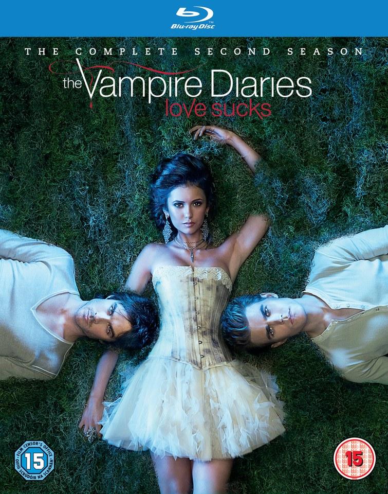 The Vampire Diaries Season 2 Blu Ray Zavvi