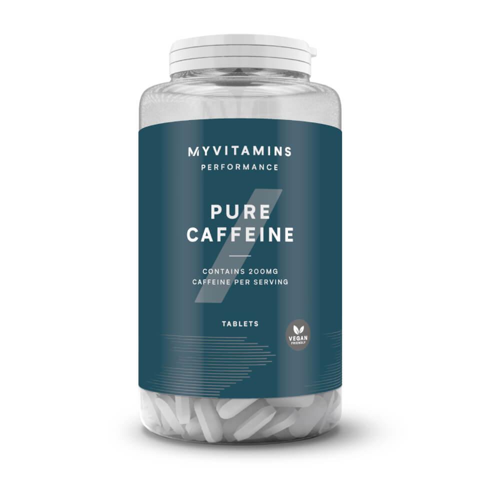 Caféine Pure 200MG Tablettes résistance élevée Energy Boost Amaigrissement