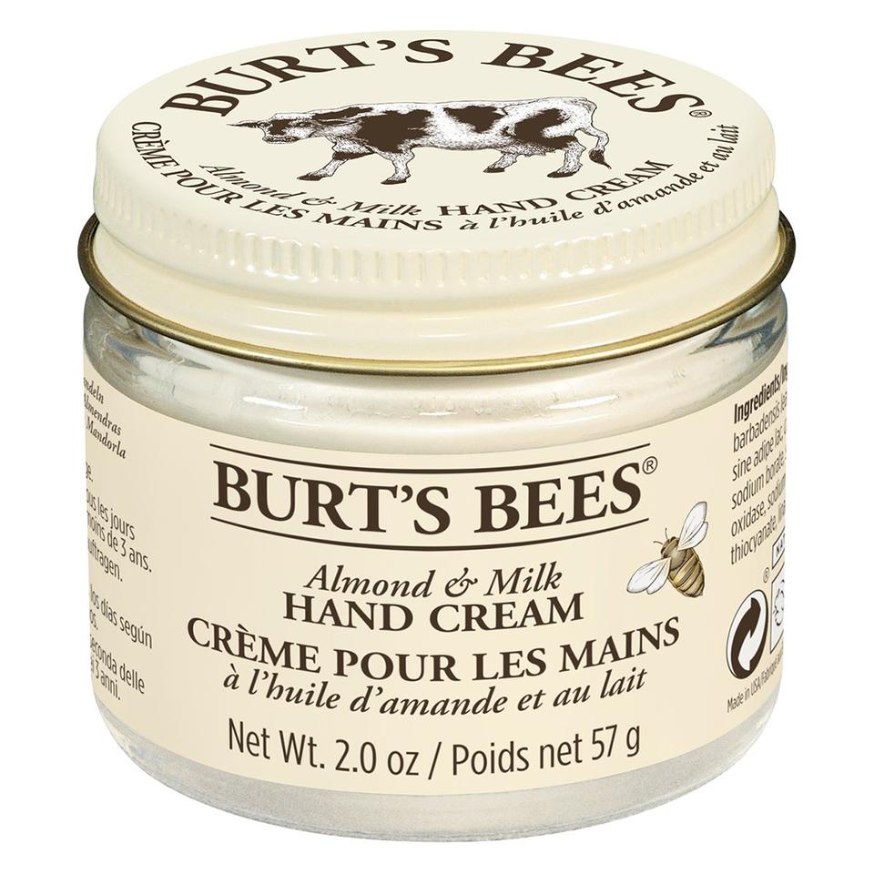 Burt\'s Bees Almond & Milk Hand Cream 57g | Free Shipping | Lookfantastic
