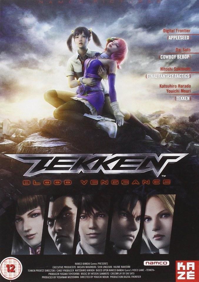 tekken blood vengeance dvd zavvi