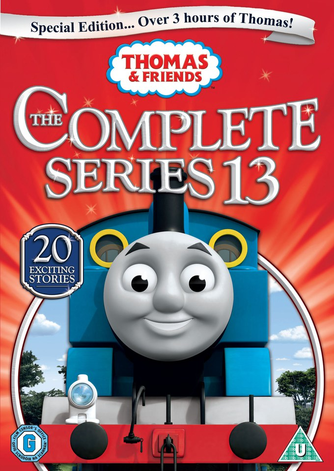 Thomas And Friends The Complete Series 13 Dvd Zavvi