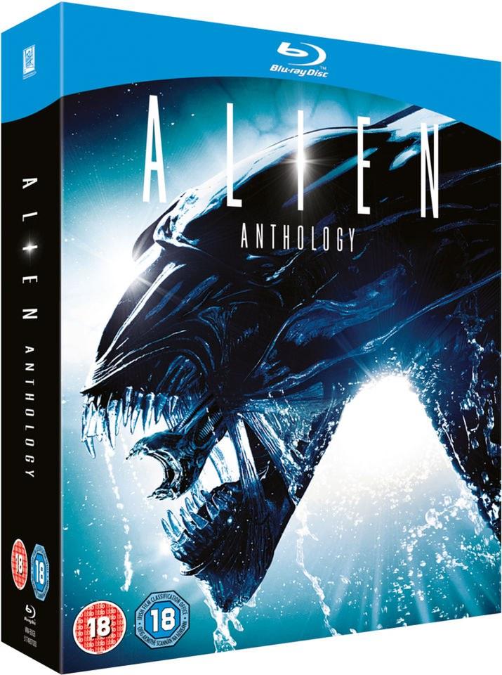Alien Anthology Blu Ray Zavvi