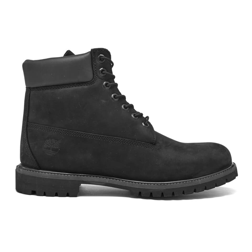 timberland s 6 inch premium leather boots black