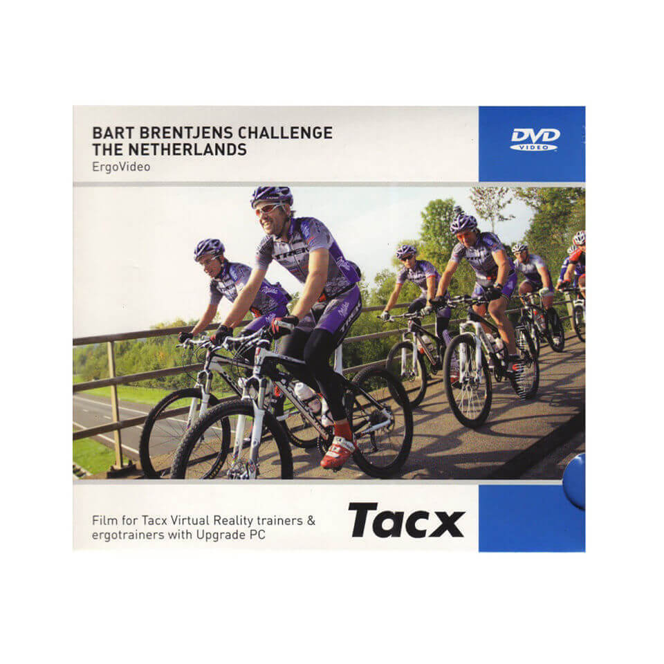 Tacx Fortius i-Magic Ergo Training DVD Bart Brentjens Challenge The Netherlands | cycling DVD