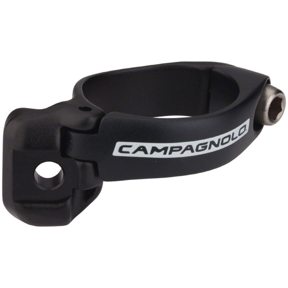 Campagnolo Record 11 Speed Braze-On Front Derailleur Clamp - Black | Misc. Gears and Transmission