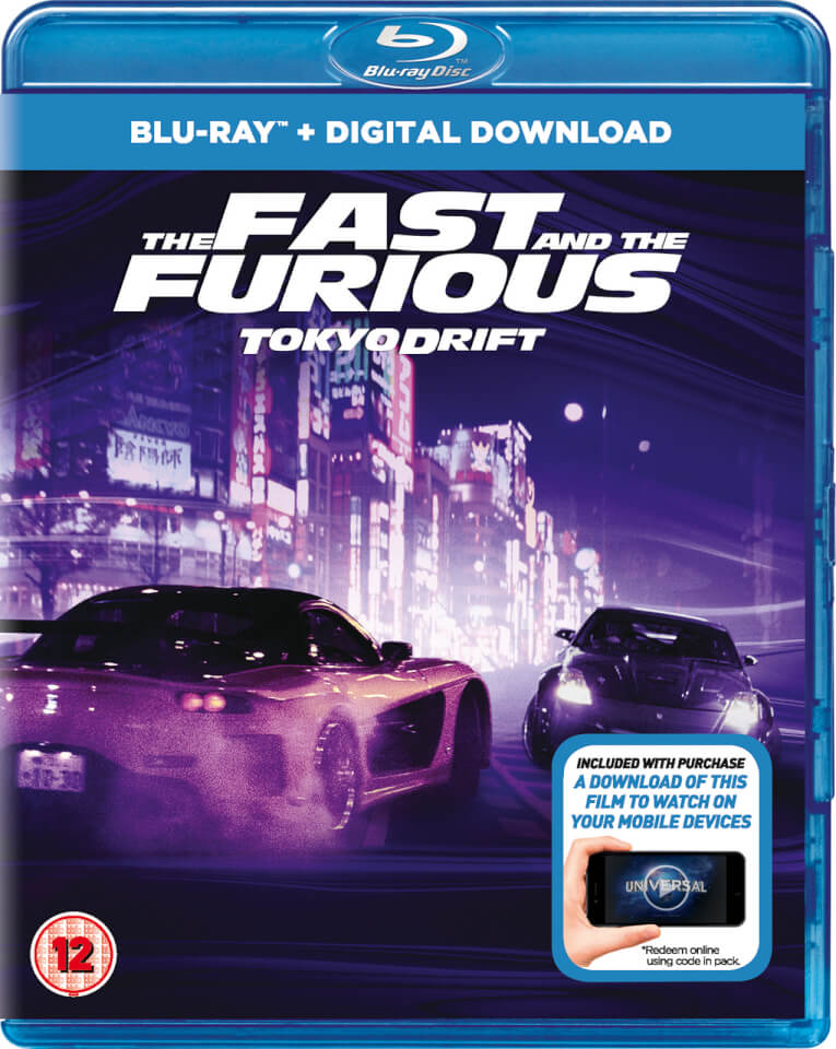 the fast and the furious tokyo drift includes ultraviolet copy blu ray zavvi. Black Bedroom Furniture Sets. Home Design Ideas
