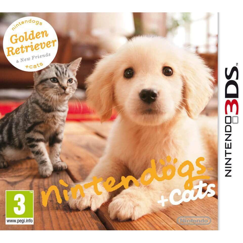 Nintendogs™ + Cats (Golden Retriever + New Friends