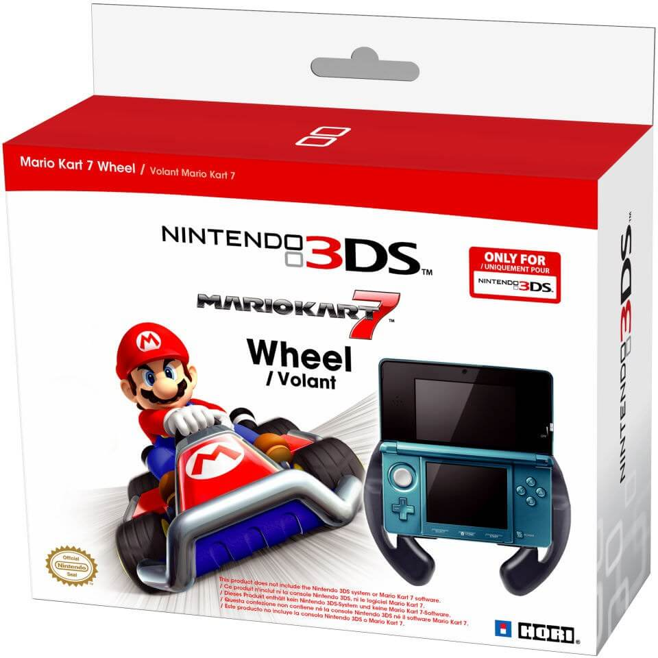 nintendo 3ds mario kart 7 wheel nintendo official uk store. Black Bedroom Furniture Sets. Home Design Ideas
