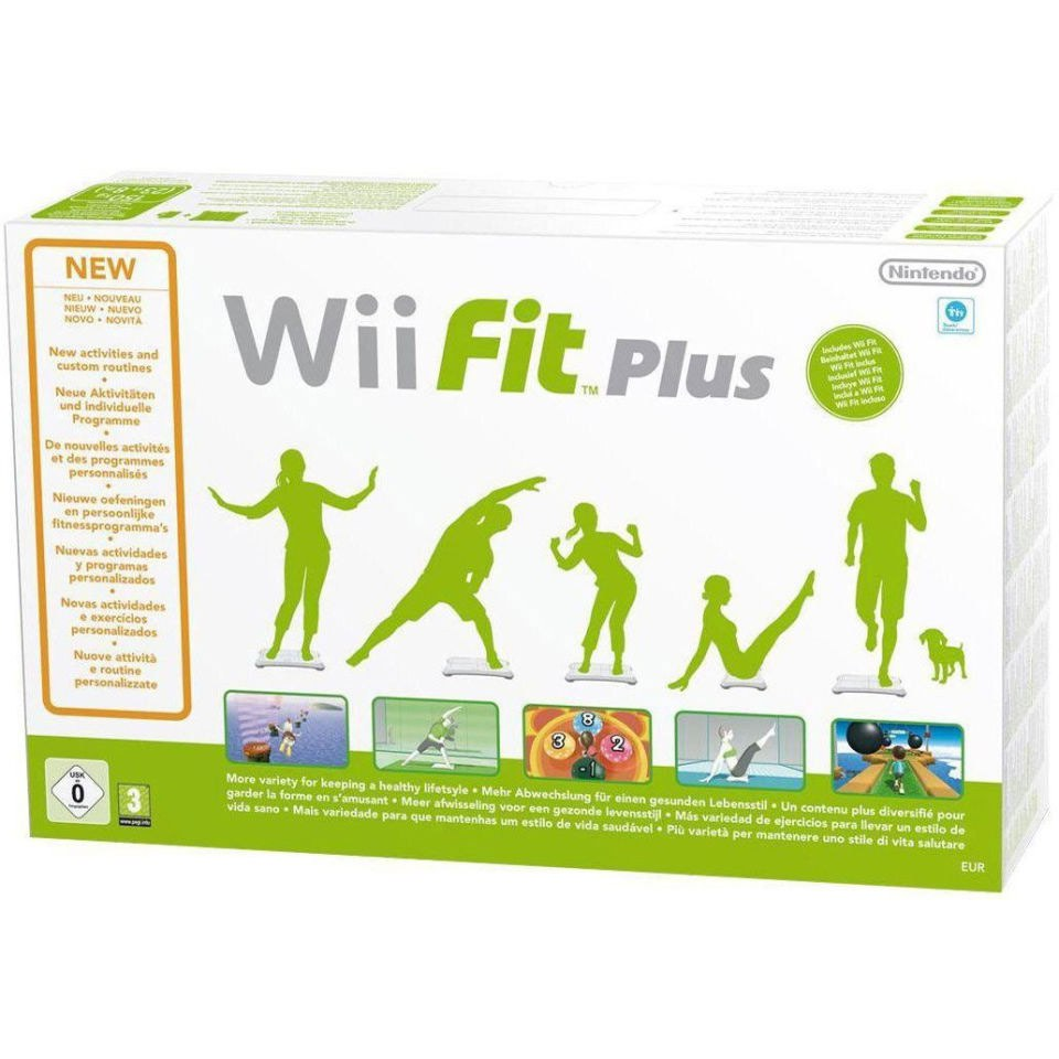 Wii Fit Plus & Wii Balance Board White Bundle | Nintendo ...