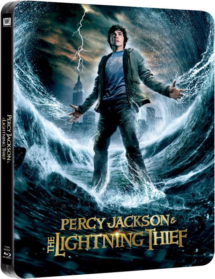 Percy Jackson and the Lighting Thief - Limited Edition Steelbook Blu-ray | Zavvi.com & Percy Jackson and the Lighting Thief - Limited Edition Steelbook ... azcodes.com