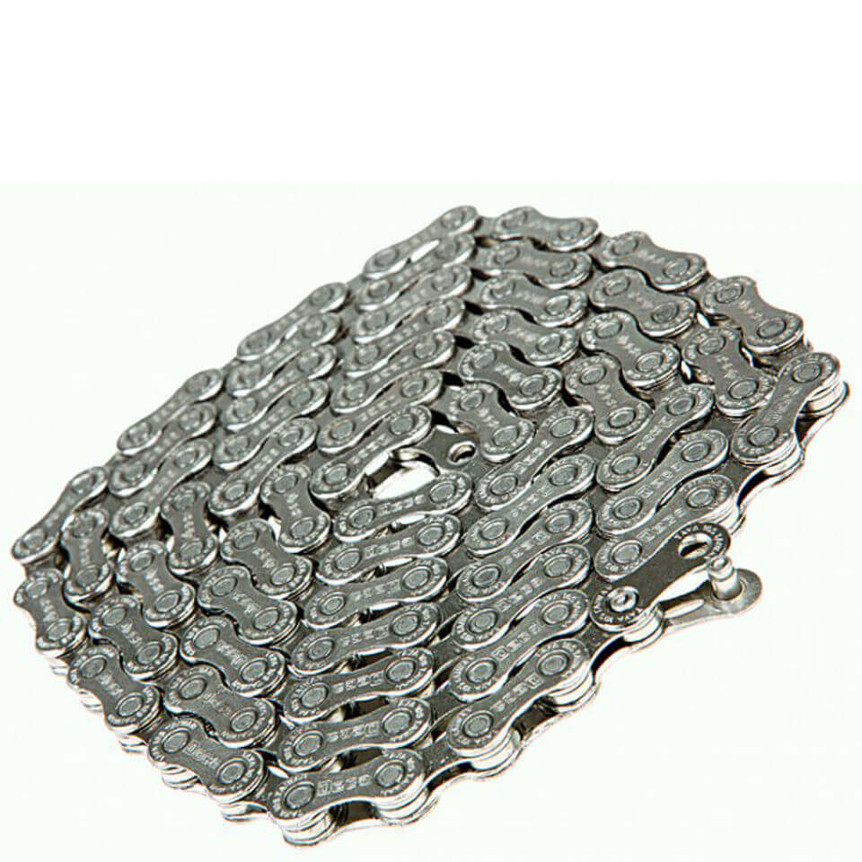 Taya Deca 101 116L 10 Speed Bicycle Chain - Silver/Black | Chains