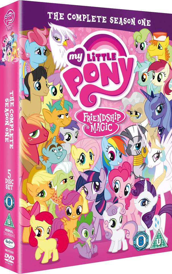 My Little Pony The Complete Season 1 Dvd Zavvi