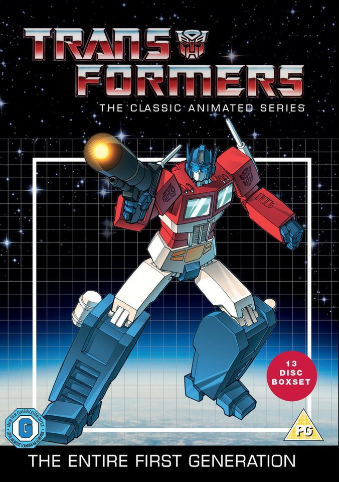 Transformers Classic Animated Collection Dvd Zavvi Uk