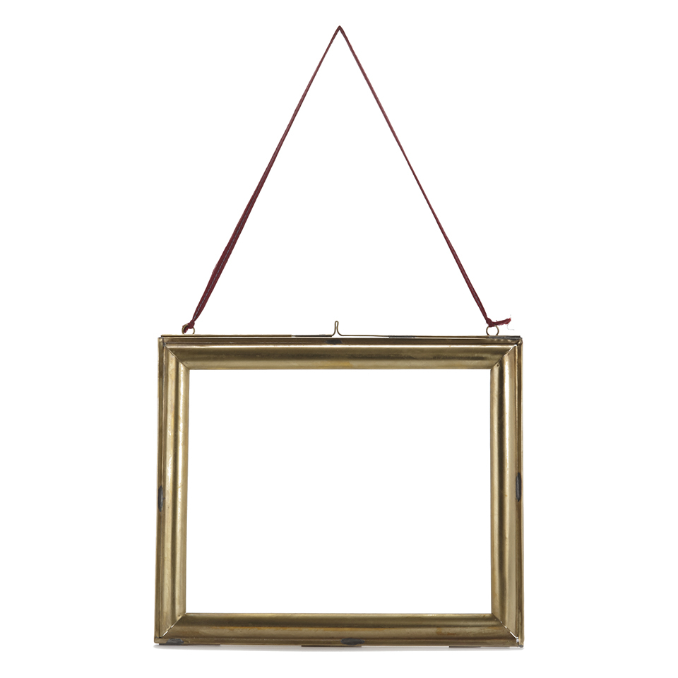 Nkuku Kariba Antique Brass Frame - Antique Brass - Landscape 8 x 10 ...