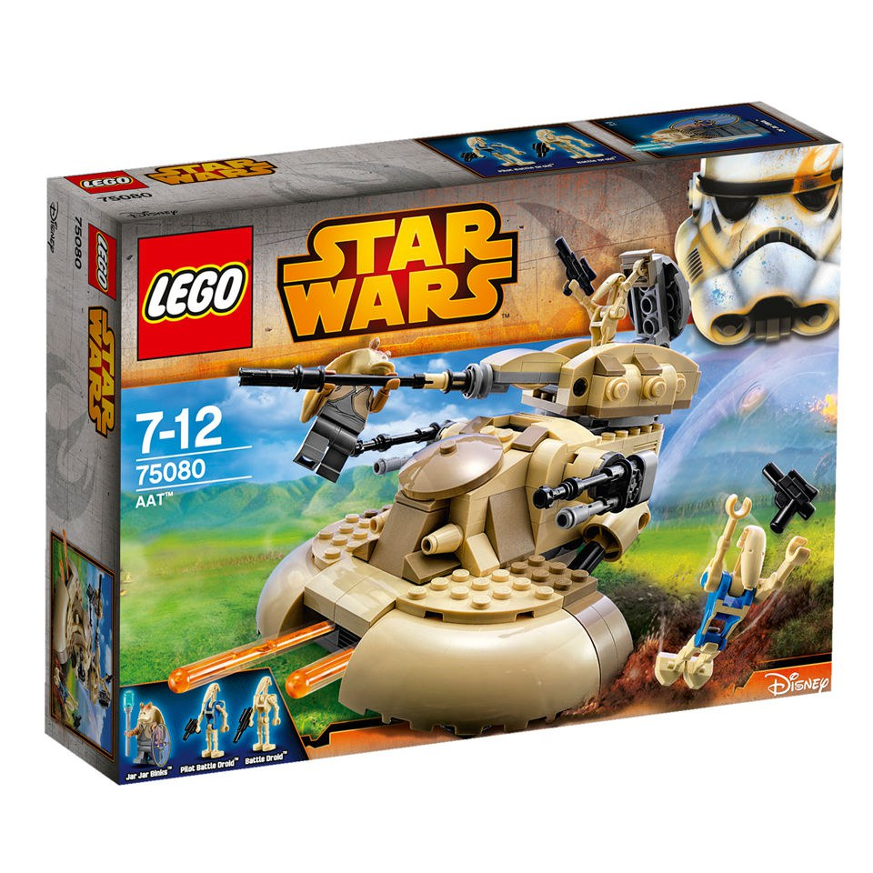 Lego Star Wars Battles 0 30 Apk: LEGO Star Wars: AAT™ (75080) Toys