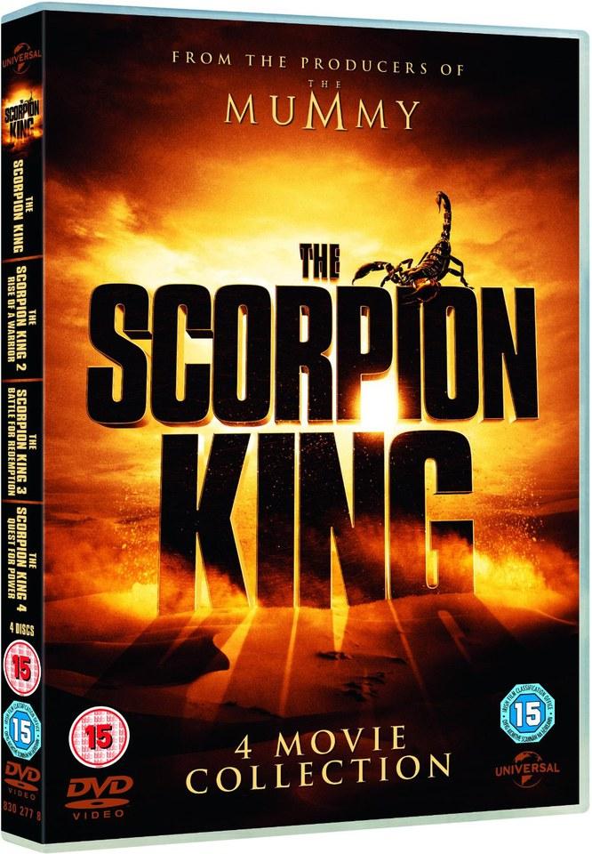The Scorpion King The Scorpion King Dvd Zavvi