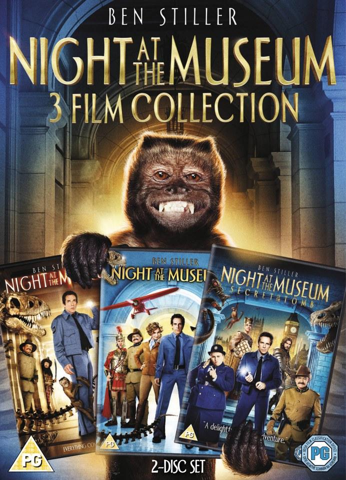 Night At The Museum 1 3 Box Set Dvd Zavvi