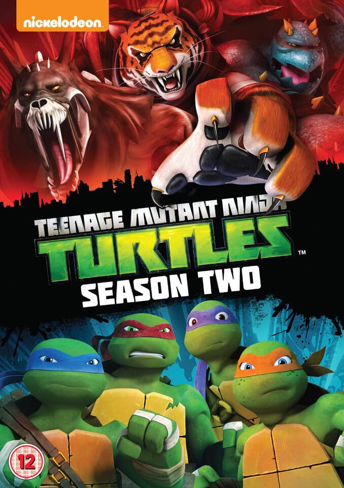 Teenage Mutant Ninja Turtles Season 2 Dvd Zavvi