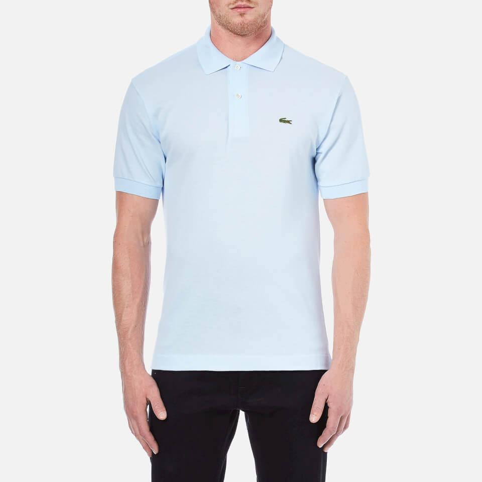 Lacoste Men S Polo Shirt Baby Blue Clothing Thehut Com