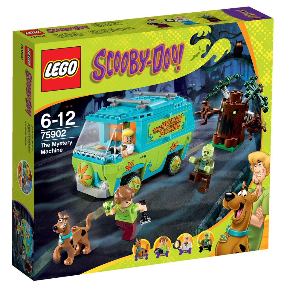 Walmart Toys For Boys Legos : Lego scooby doo the mystery machine toys zavvi