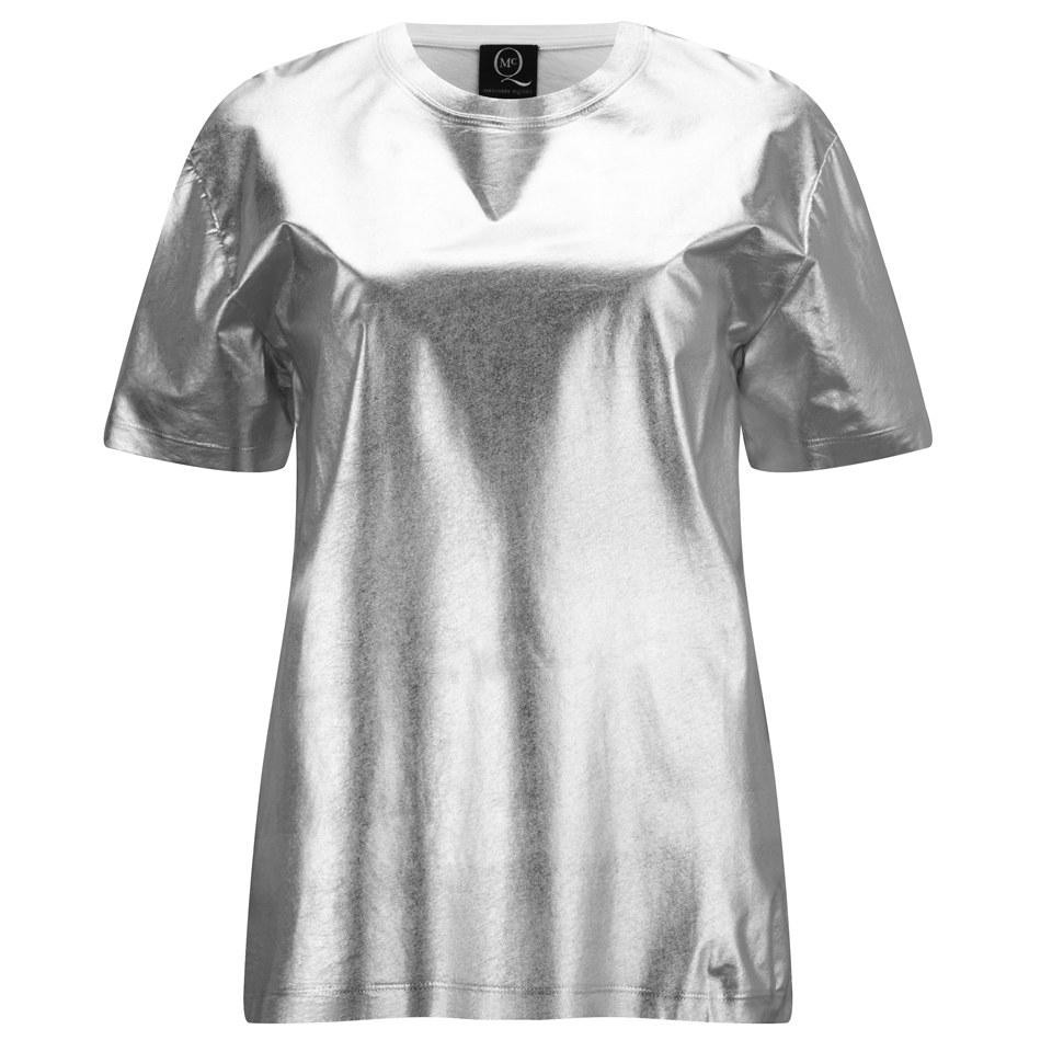 Mcq Alexander Mcqueen Women S Boyfriend T Shirt Silver