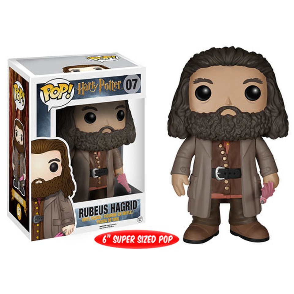 Harry Potter Rubeus Hagrid Pop Vinyl Figure Pop In A Box Uk